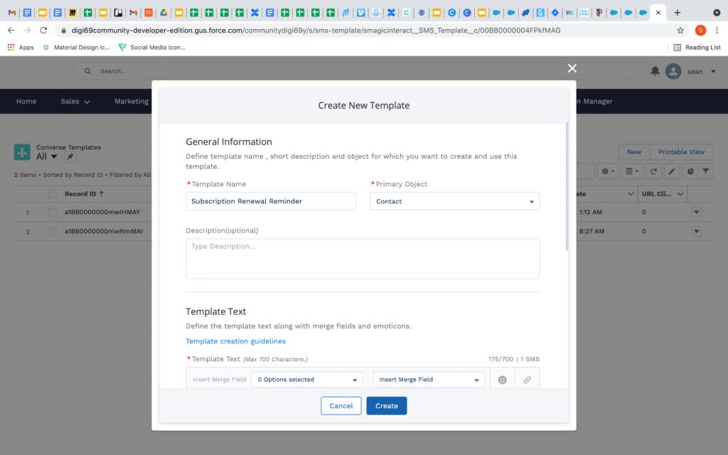Create new template salesforce experience cloud improvements