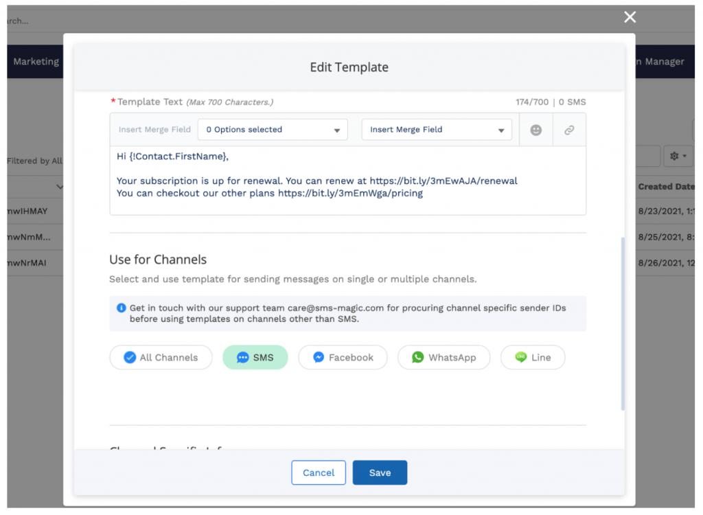 Edit template salesforce experience cloud improvement