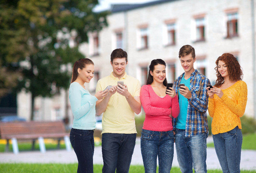 Go Digital to Recruit Students with Text Messaging