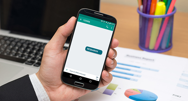 Invite Customers to Start Messaging Conversations with Keywords