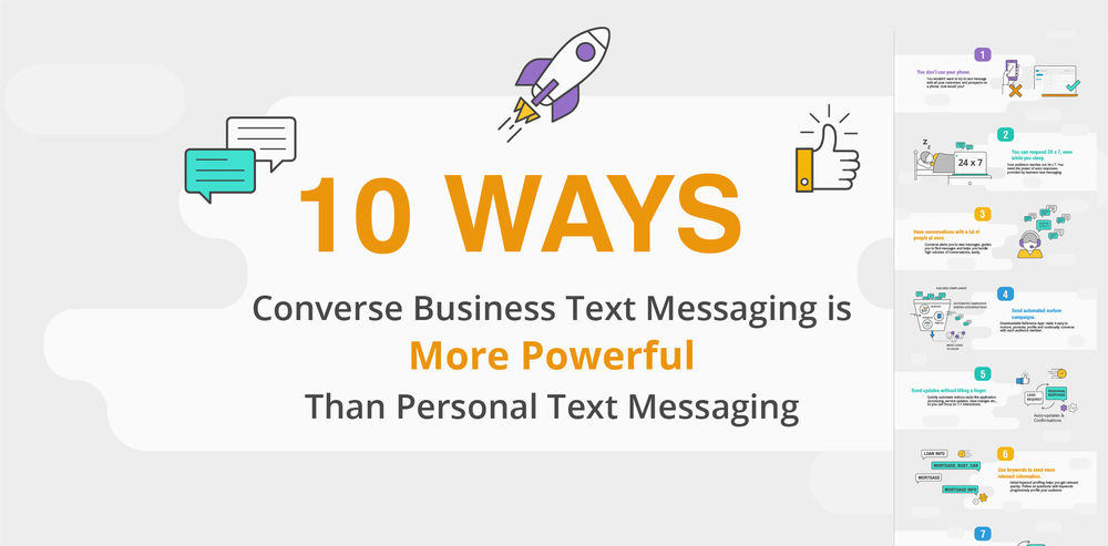 Business Text Messaging vs. Personal Messaging