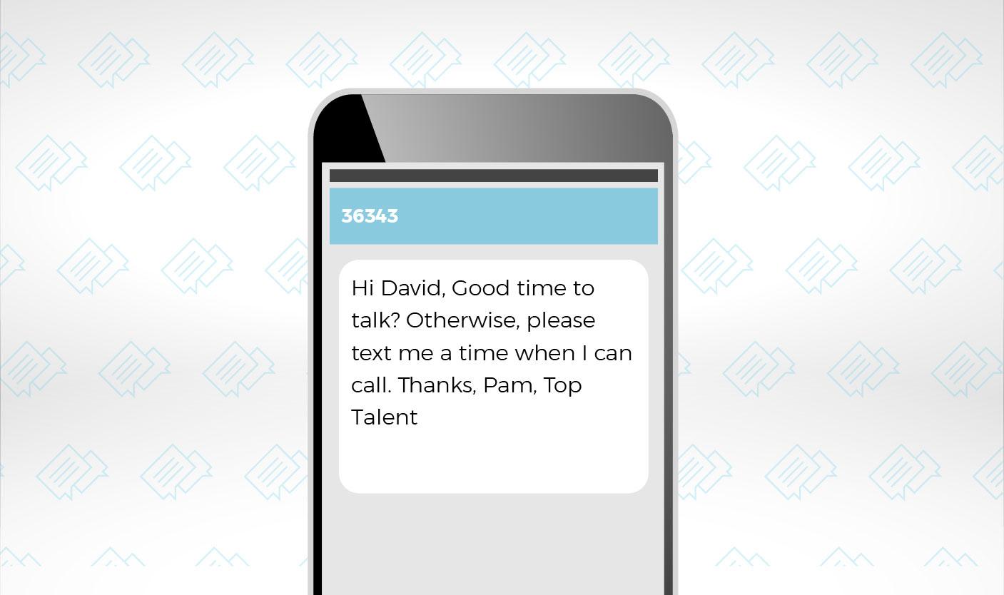 match com talk and text